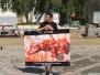Омск: акция у Дома искусств