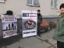 Пикет Центра по борьбе со СПИДом в Казани