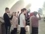 Молебен в Новоспасском монастыре