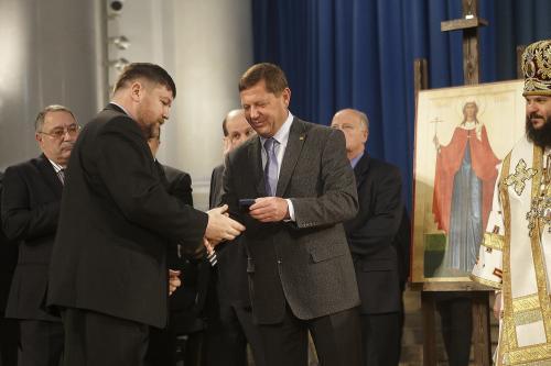 1f - Добровольцы Движения «Воины Жизни» награждены почетными знаками Святой Татьяны