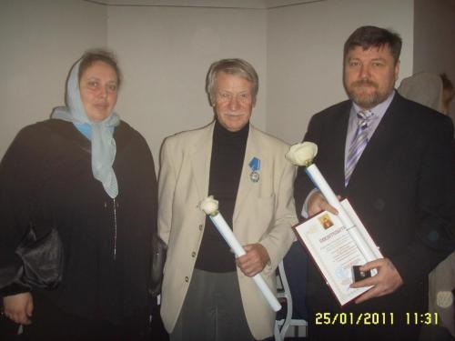 4 - Добровольцы Движения «Воины Жизни» награждены почетными знаками Святой Татьяны