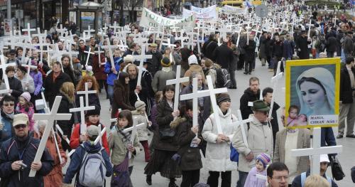 ch2 - Одиннадцатый Марш за жизнь в Праге собрал тысячу участников