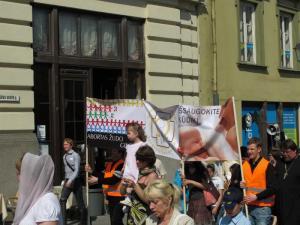 img 3701 - По Старому городу Вильнюса прошло шествие в защиту жизни