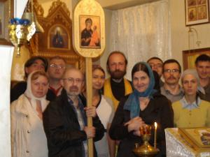 1016518 - В Петербурге пролайферы отметили день своего Небесного Покровителя