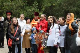 simf1 - Православные Симферополя провели акцию в защиту жизни