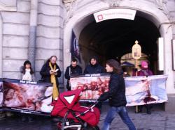 pmk - Во время пикета был отслужен молебен у стен абортария