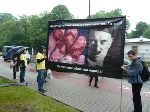 Аборты убили в 8 раз больше россиян, чем Гитлер