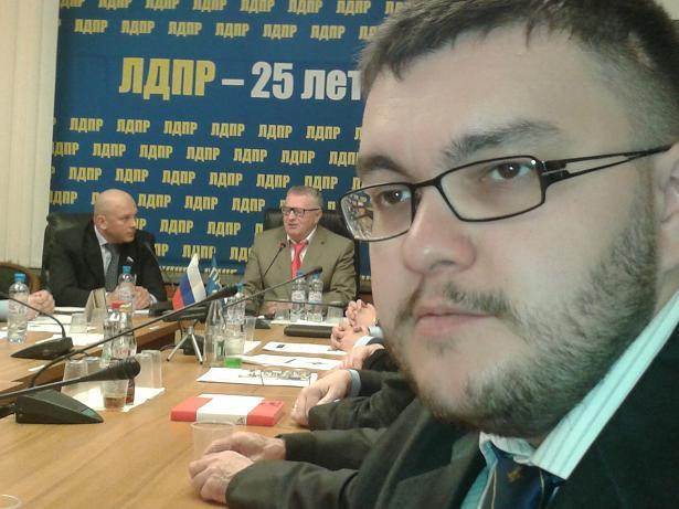 Дмитрий Баранов в Государственной Думе