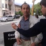 нападавший - Президентская клиника в Санкт-Петербурге: Нападение с ножом произошло на противников абортов
