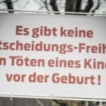 keine - Германские судьи не должны посягать на свободу протестовать против абортов, считают в ЕСПЧ